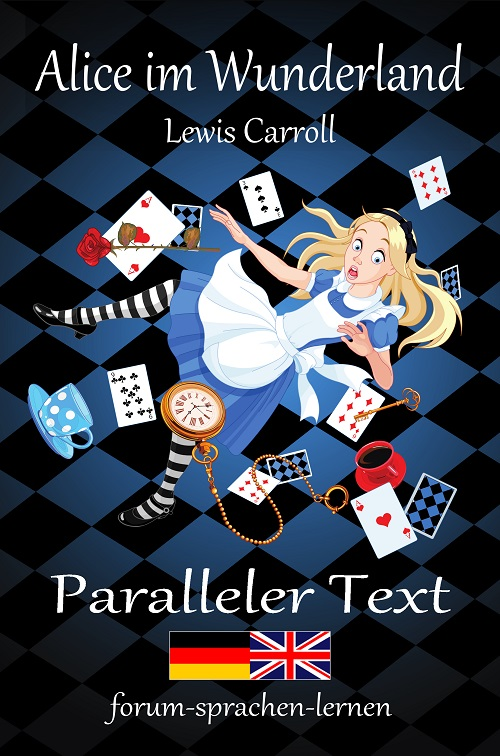 Alice im Wunderland Zweisprachig Deutsch Englisch