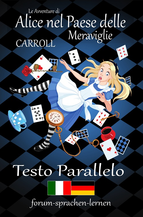 Alice nel paese delle Meraviglie Italiano Tedesco