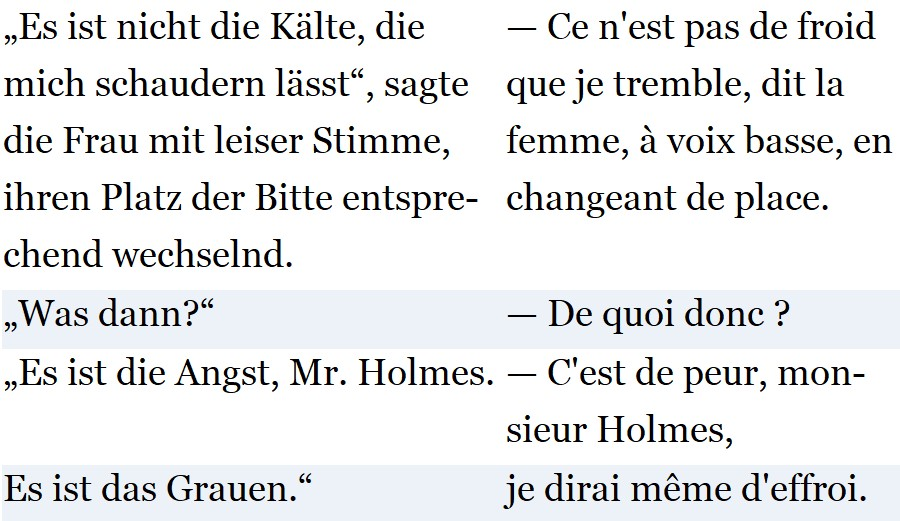 Französisch lernen mit Krimis - Sherlock Holmes