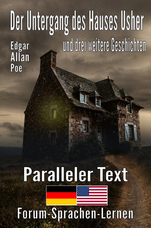 Der Untergang des Hauses Usher Bilinguales Buch Deutsch Englisch