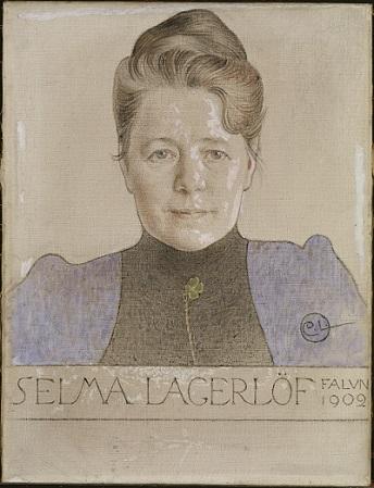 Selma Lagerlöf - Authorin von Nils Holgersson